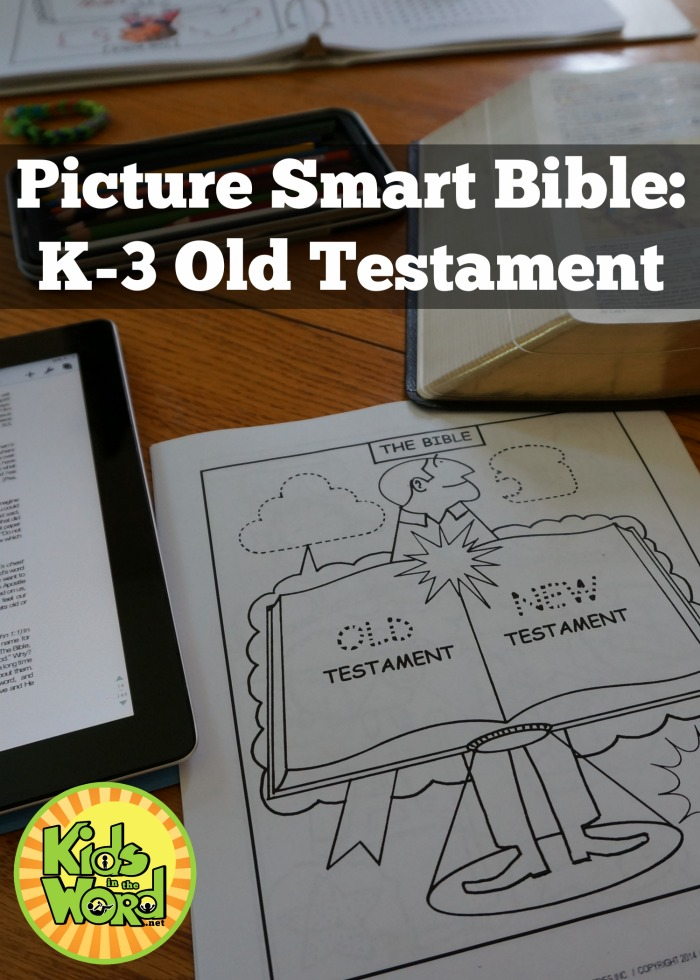 Picture Smart Bible: K-3 Old Testament. Tracing, coloring, & learning each book of the Bible.