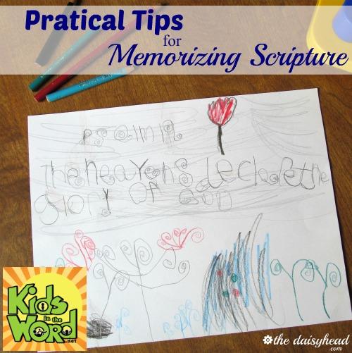 memorizing Bible