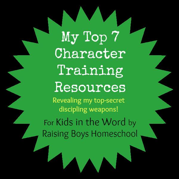 Top7CharacterResources RaisingBoysHomeschoo