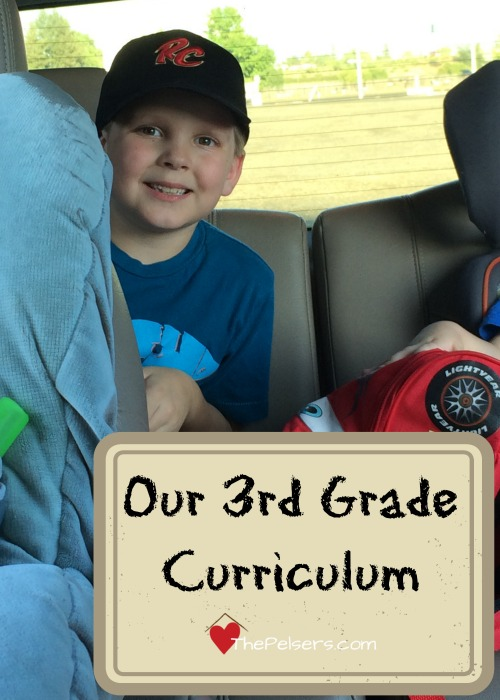 Our 3rd Grade Curriculum at ThePelsers.com