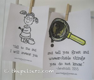 Kids in the Word Wednesdays ~ July 20