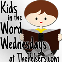 Kids in the Word Wednesdays
