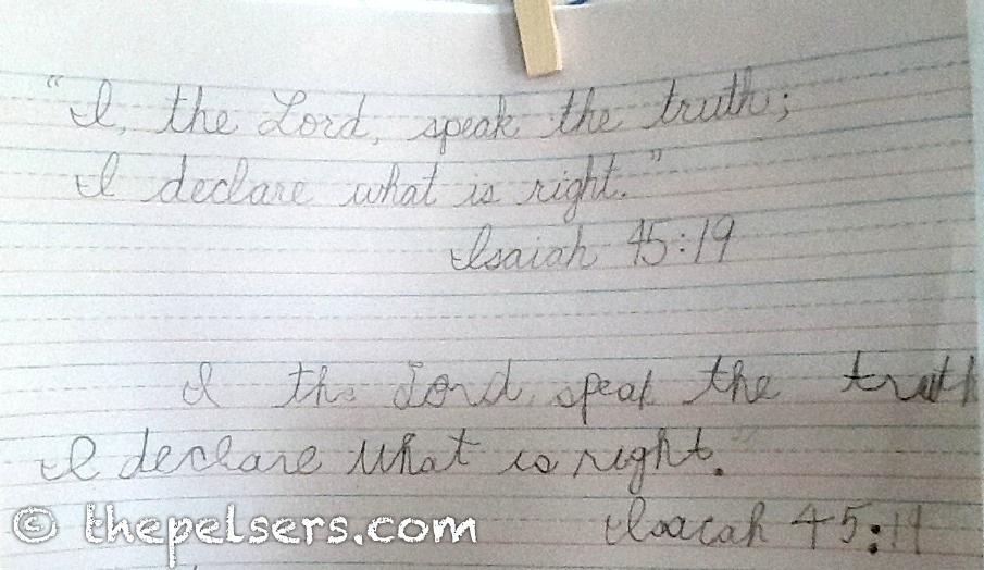 Isaiah 45:19