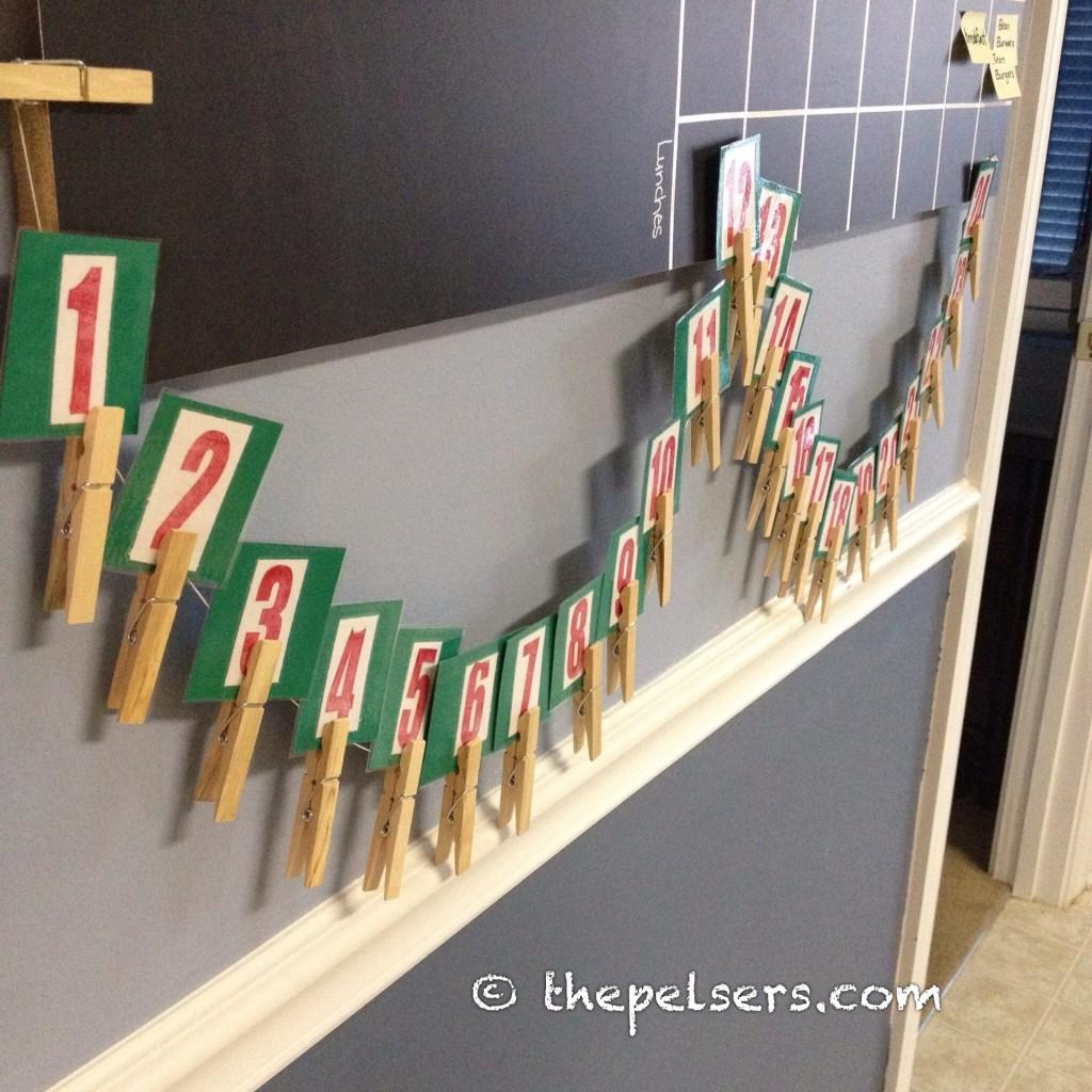 Our Simple Homemade Advent Calendar