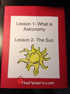 Review: A Journey Through Learning Apologia Astronomy Lapbook