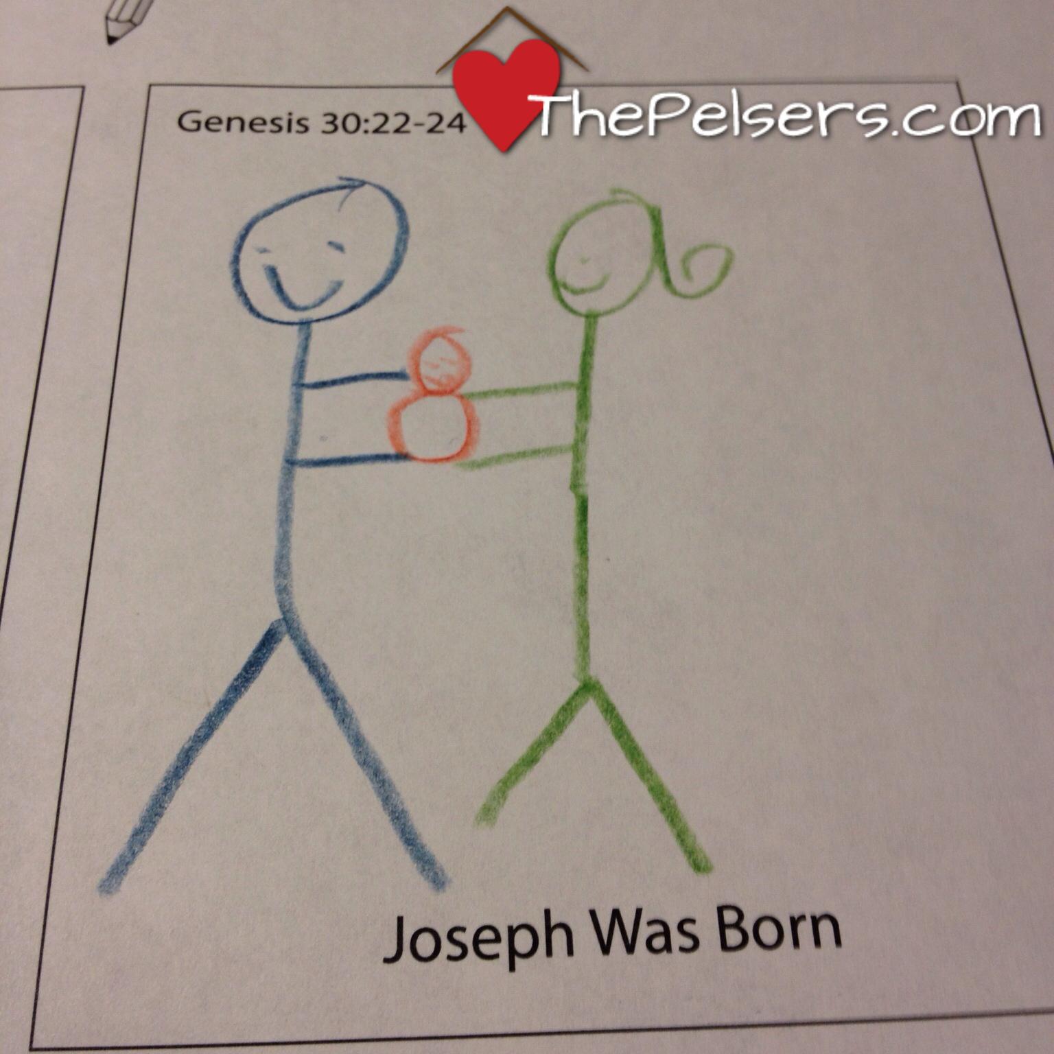 Grapevine Joseph was Born