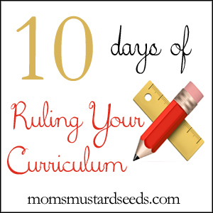 Ruling Your Curriculum with an Early/Advanced Learner