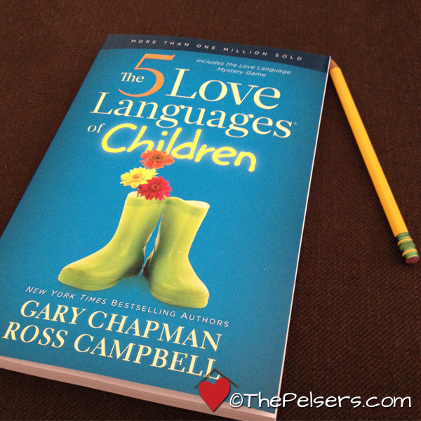 Love Each Other When Two Souls: Book Review: The 5 Love Languages Of Children