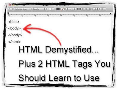 HTML-Demystified