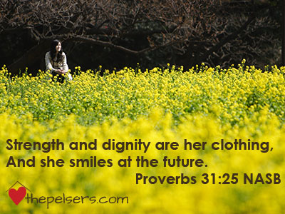 The Proverbs 31 Woman: Smile at the Future