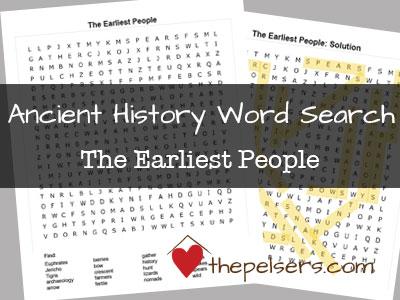 Word-Search-SOTW-Ch-1-The-Earliest-People