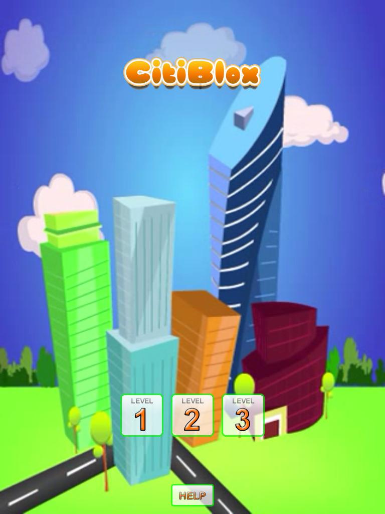 CitiBlox: A Fun Problem Solving iOS App