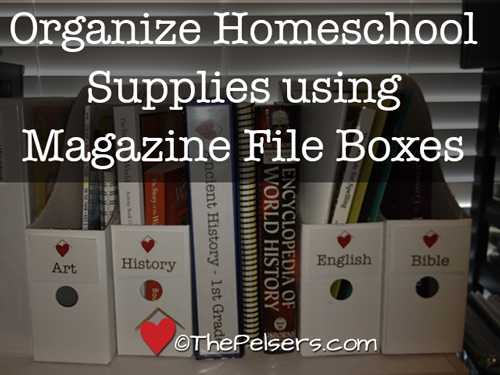 Organize-Homeschool-Supplies-using-Magazine-File-Boxes