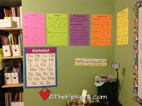 Our-School-Room-Applied-Grammar-Posters