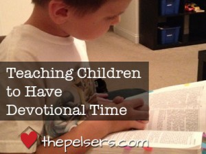 Teaching-Children-to-Have-Devotional-Time