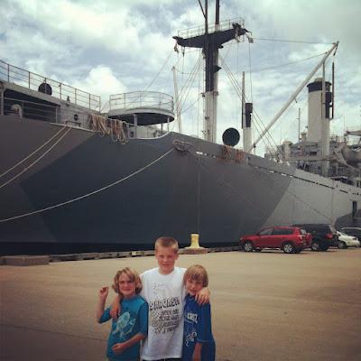 navy field trip