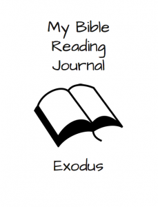 Kids in the Word: Reading Through Exodus