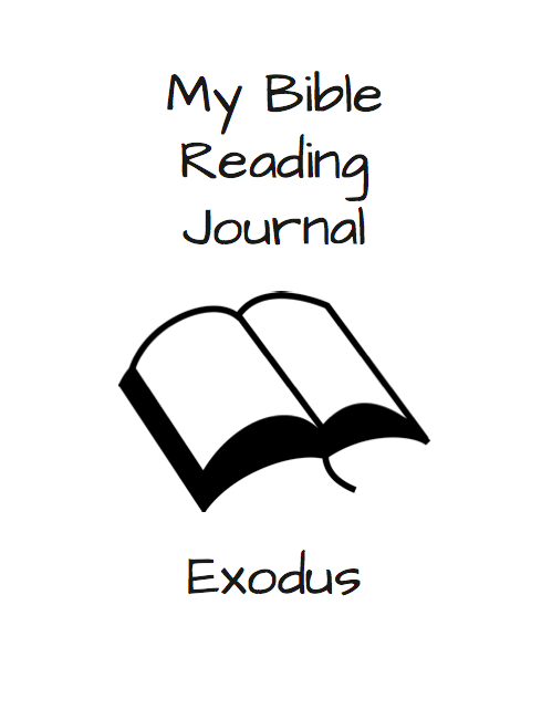 Exodus Bible Reading Journal