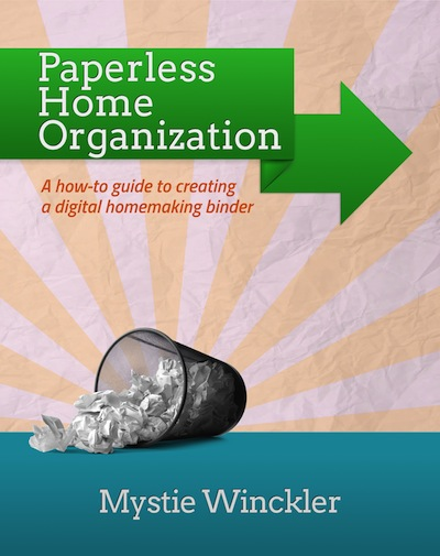 Paperless Home Organization Small Cover