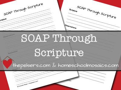SOAP-Through-Scripture