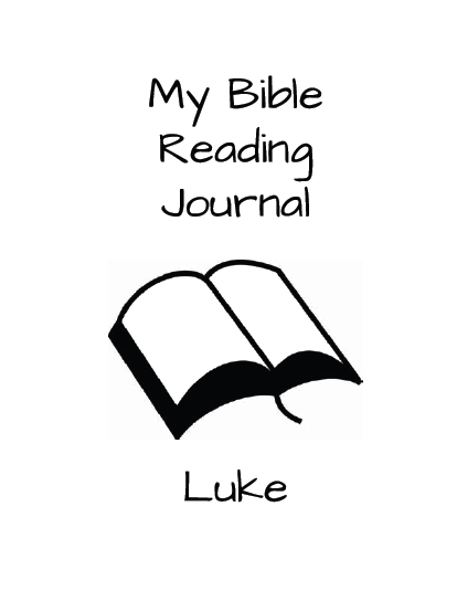 Luke Bible Reading Journal
