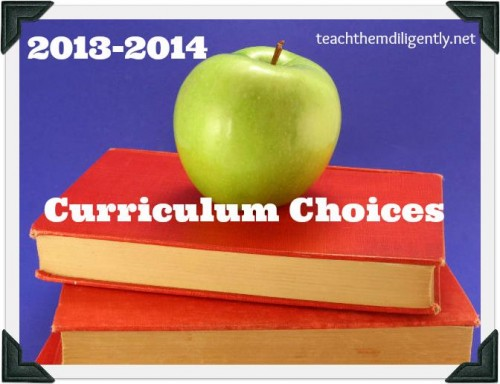Teach Them Diligently Curriculum Choices