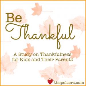 Be Thankful – Autumn Inspiration Week