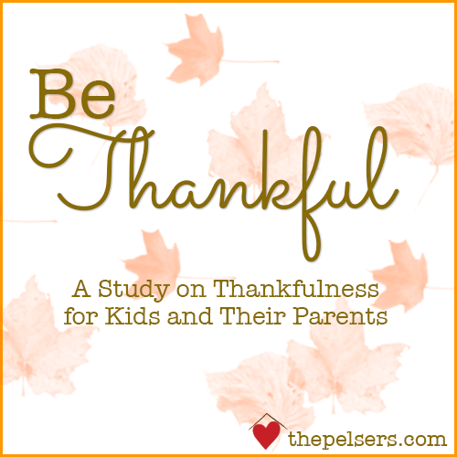 Be Thankful – Autumn Inspiration Week