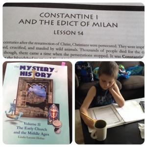 Constantine Plus Hot Chocolate