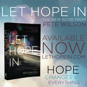 Review: Let Hope In by Pete Wilson