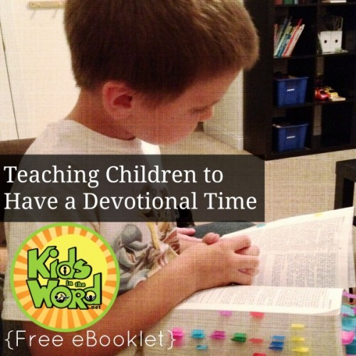 Teaching Devotional Time eBooklet