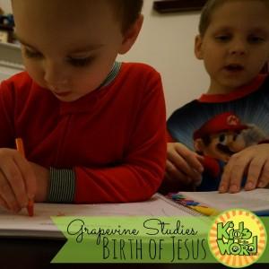Grapevine Studies: Birth of Jesus