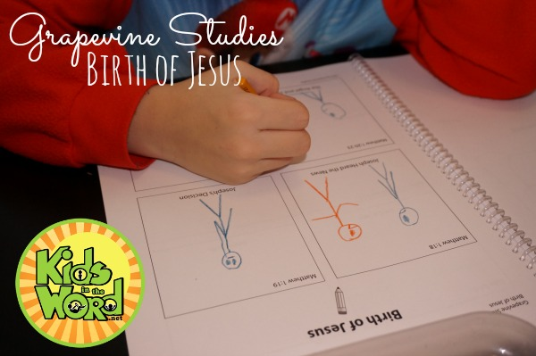 Birth of Jesus Jonathan Drawing 2