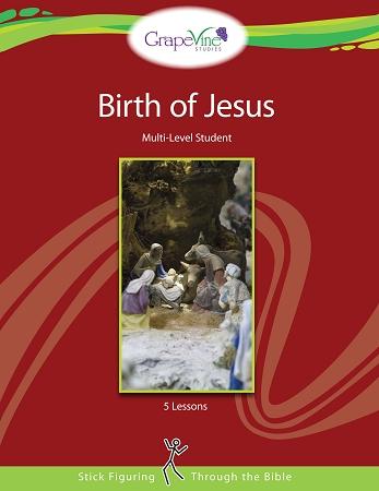 Birth of Jesus study from Grapevine Studies