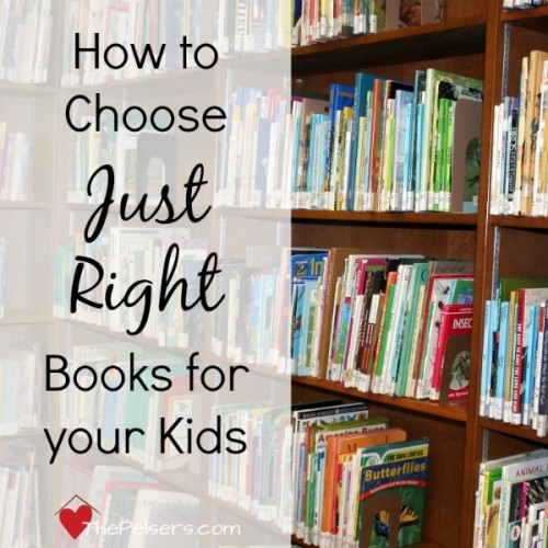 How to Choose Just Right Books Square