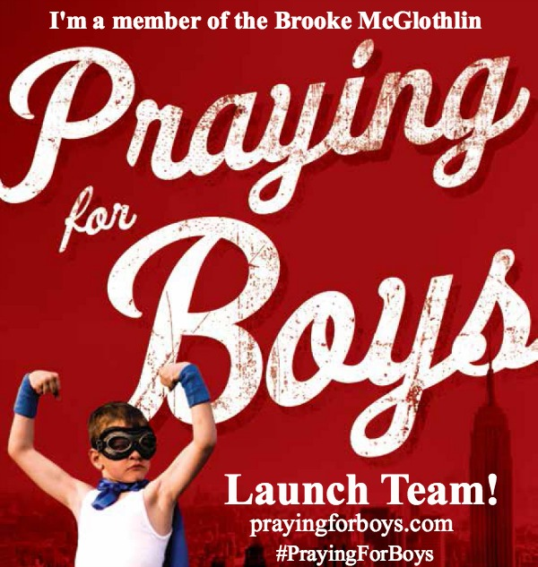 I'm a part of the Praying for Boys Launch Team. Read my review of Praying for Boys at ThePelsers.com.