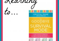 Learning Goodbye Survival 600