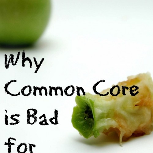Why Common Core is Bad for Homeschoolers
