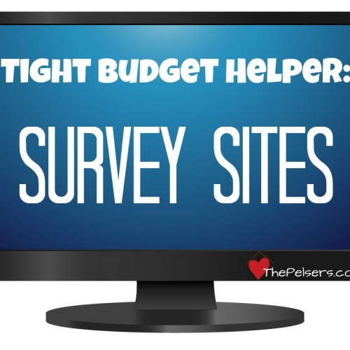 Looking for help with a tight budget? Survey sites can help you bring in a little extra cash to cover little needs and extras. List of survey sites at thepelsers.com.