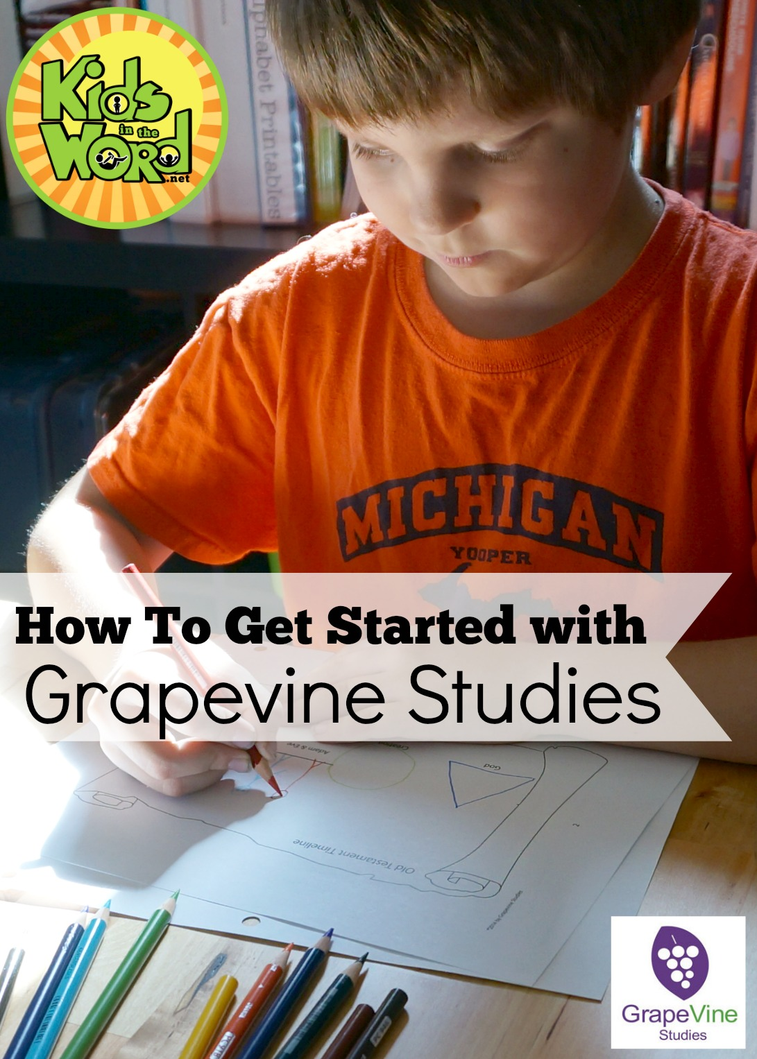 How to Get Started with Grapevine Studies: Picking studies and teaching multiple ages.