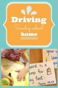 Drive Sunday School Home