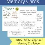 Psalm 1 passage memorization cards