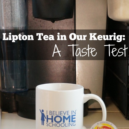 Lipton Tea K-cups review