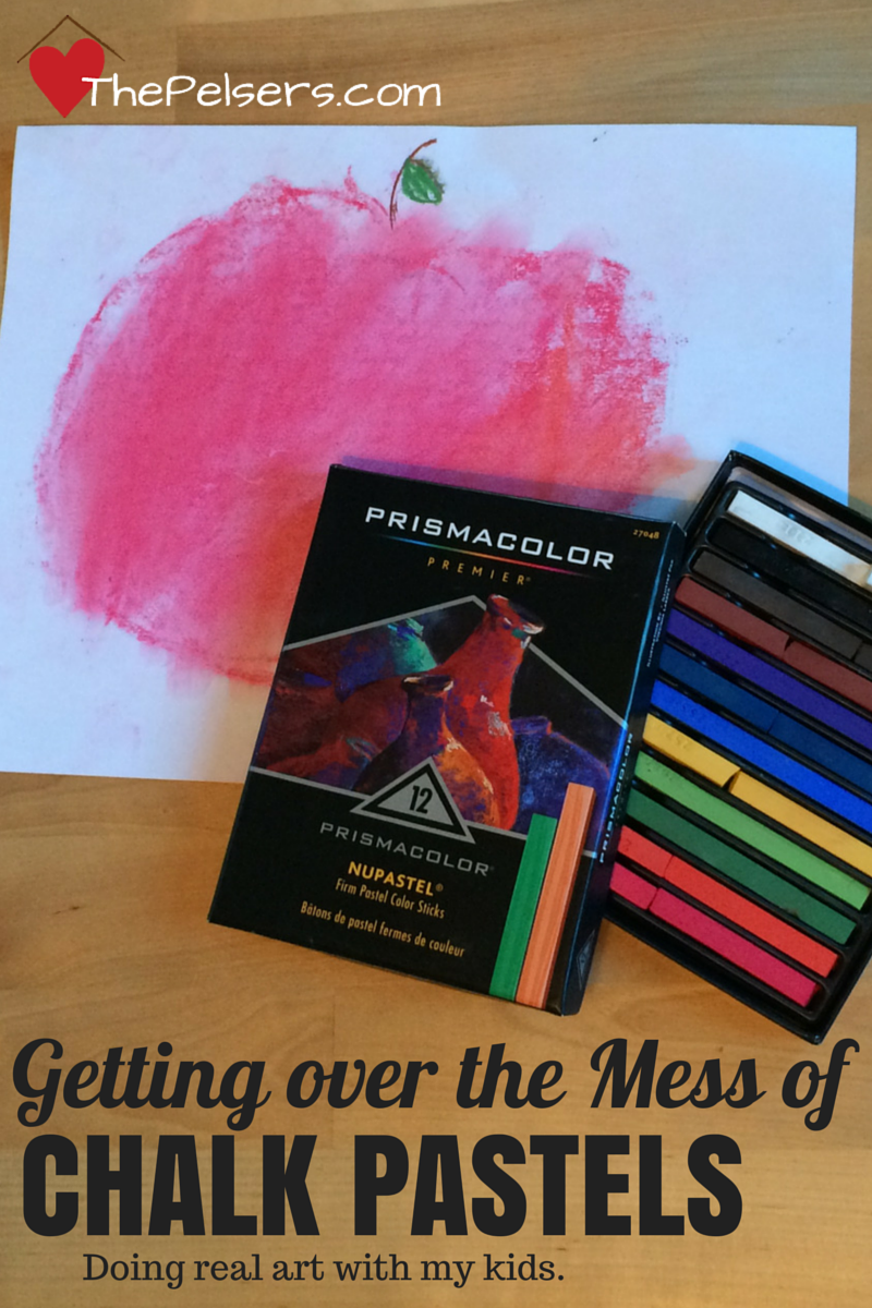 Getting Over the Mess of Chalk Pastels
