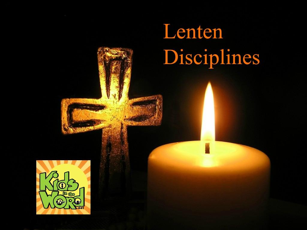 Lenten Disciplines