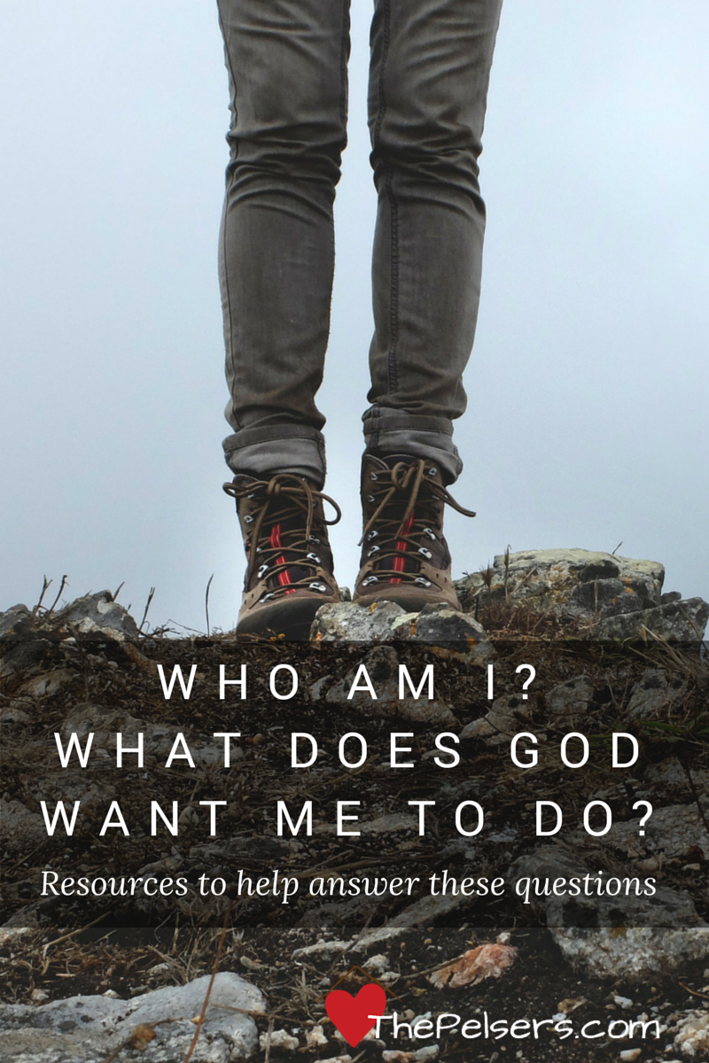 Who am I? What Does God Want Me To Do? Some favorite resources for answering these questions.