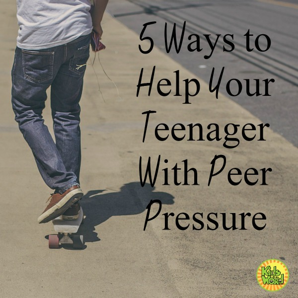 Peer Pressure is hard. Here are 5 ways to help your teenager cope.