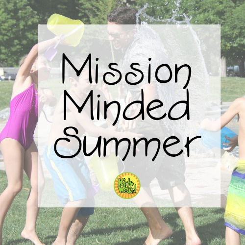 How can you keep your kids focused on the mission this summer