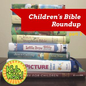 Childrens Bible Roundup part 2