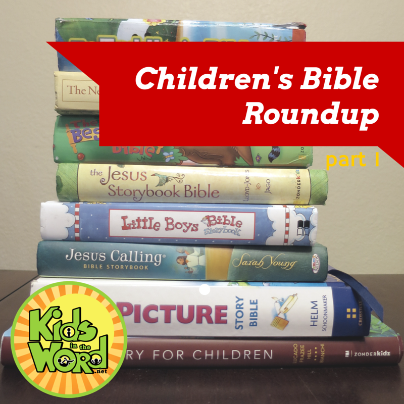 Childrens Bible Roundup from Kids in the Word